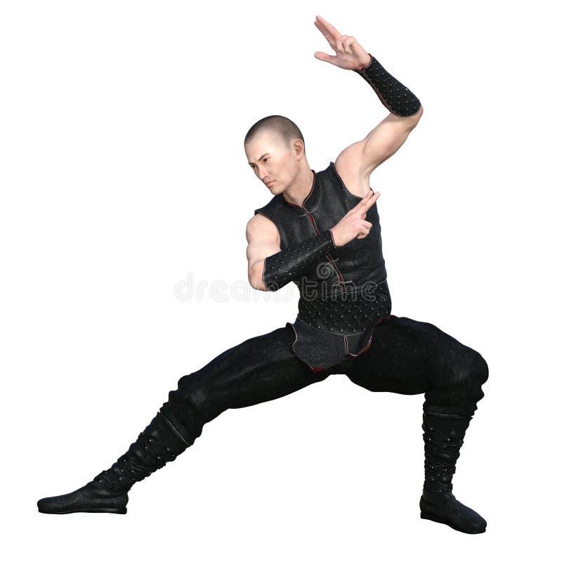 Amo del kung-fu fotos de archivo