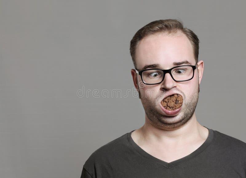Amo i biscotti fotografie stock libere da diritti