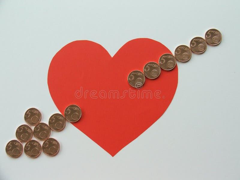 Amo i soldi, io voglio essere ricco fotografie stock