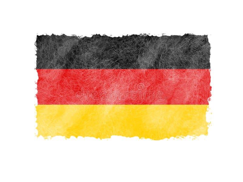 Amo la Germania, manifesto eccellente di affari dell'estratto di qualità fotografie stock libere da diritti