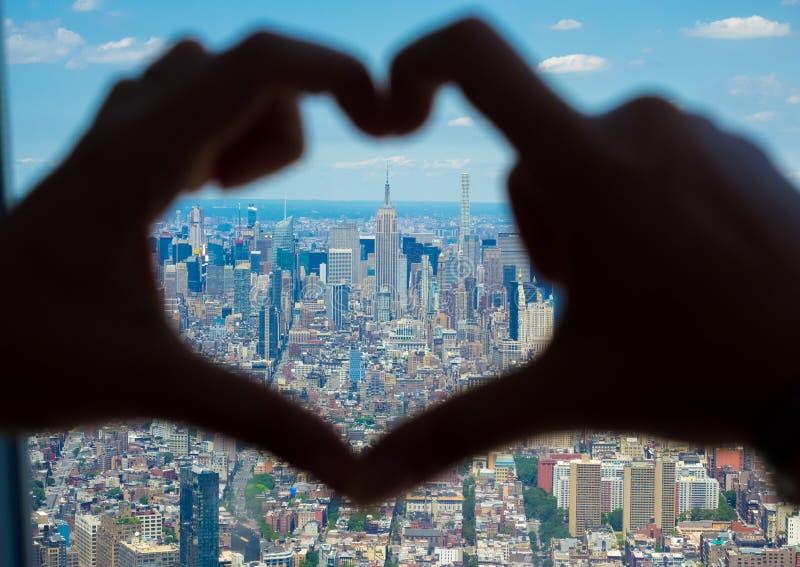 Amo New York immagine stock libera da diritti