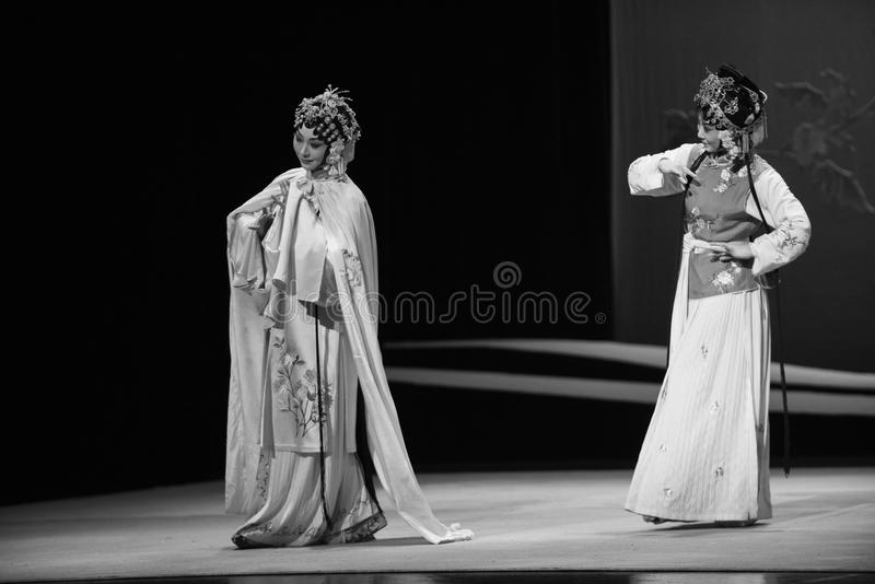 """Amo y criado -  del oeste de Chamber†del """"the de la ópera de Kunqu imágenes de archivo libres de regalías"""