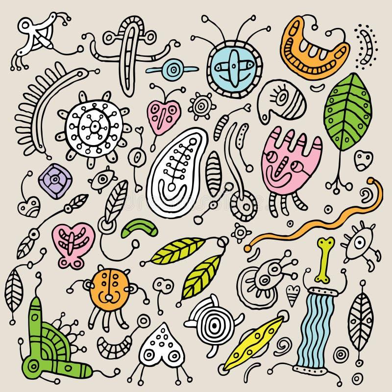 Amoeba royalty free illustration
