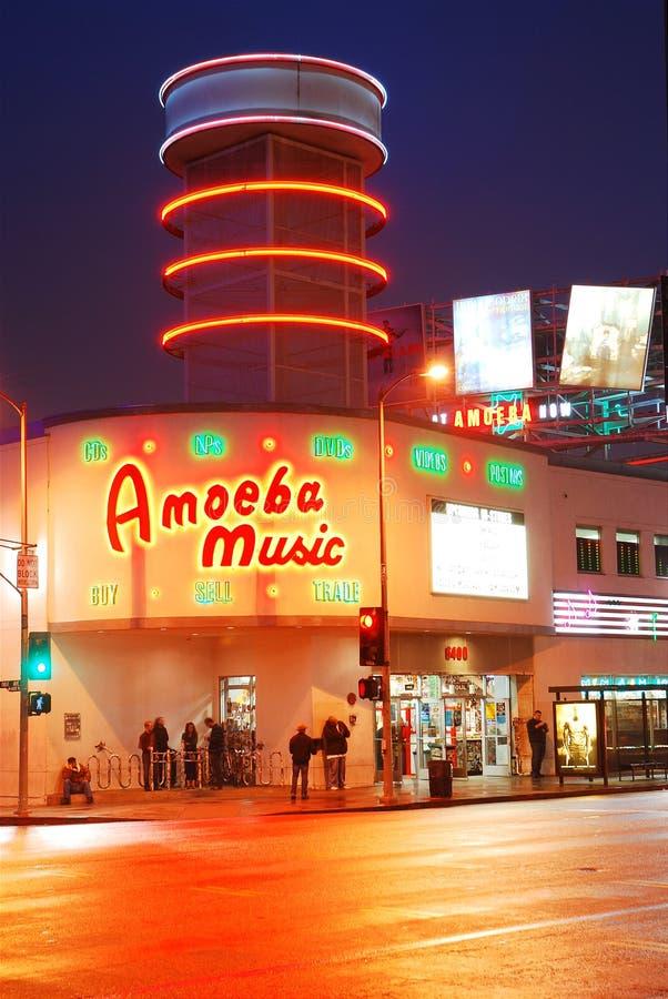 Amoeba Music royalty free stock images