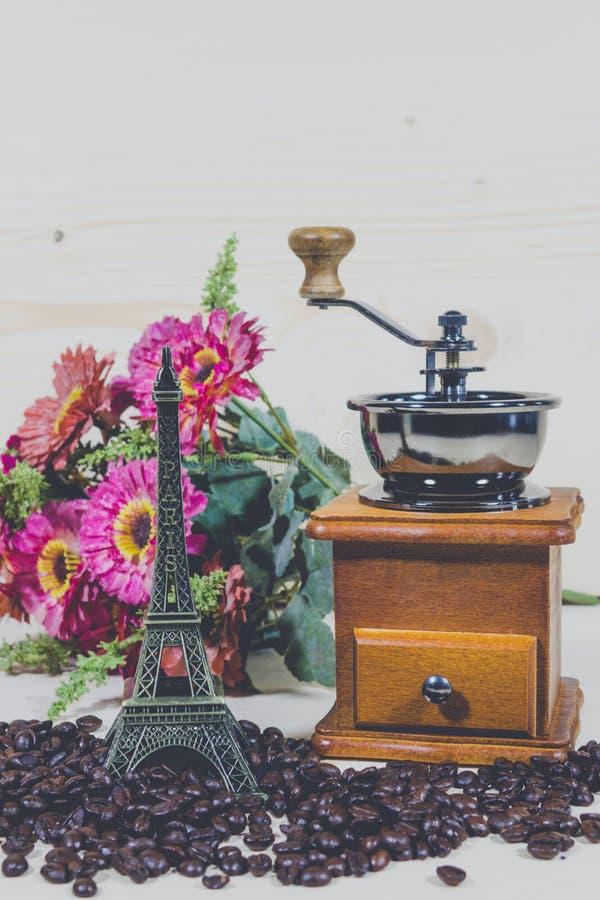Amoladora de café, fotos de archivo