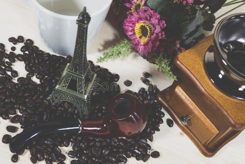 Amoladora de café, imagen de archivo libre de regalías