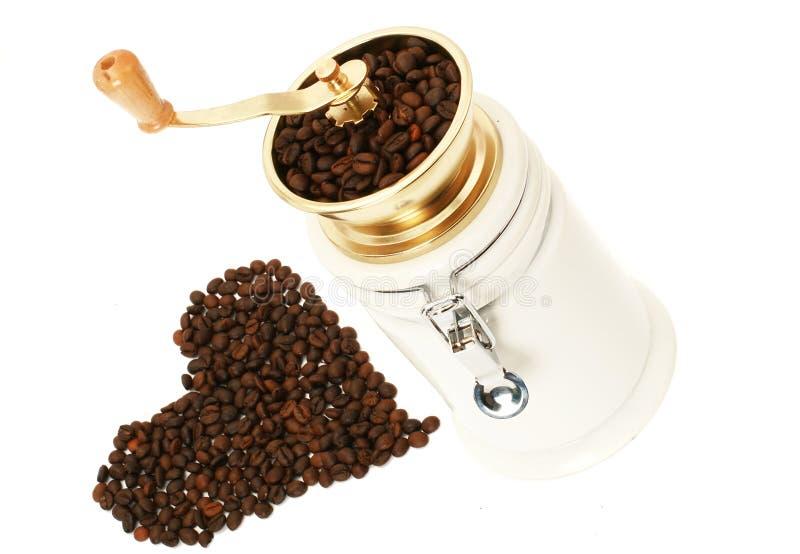 Download Amoladora De Café Con Los Granos De Café Imagen de archivo - Imagen de cerámica, alimento: 7276591