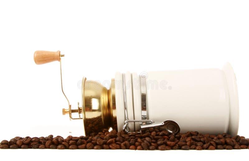 Download Amoladora De Café Con Los Granos De Café Imagen de archivo - Imagen de rectángulo, ceramic: 7276795