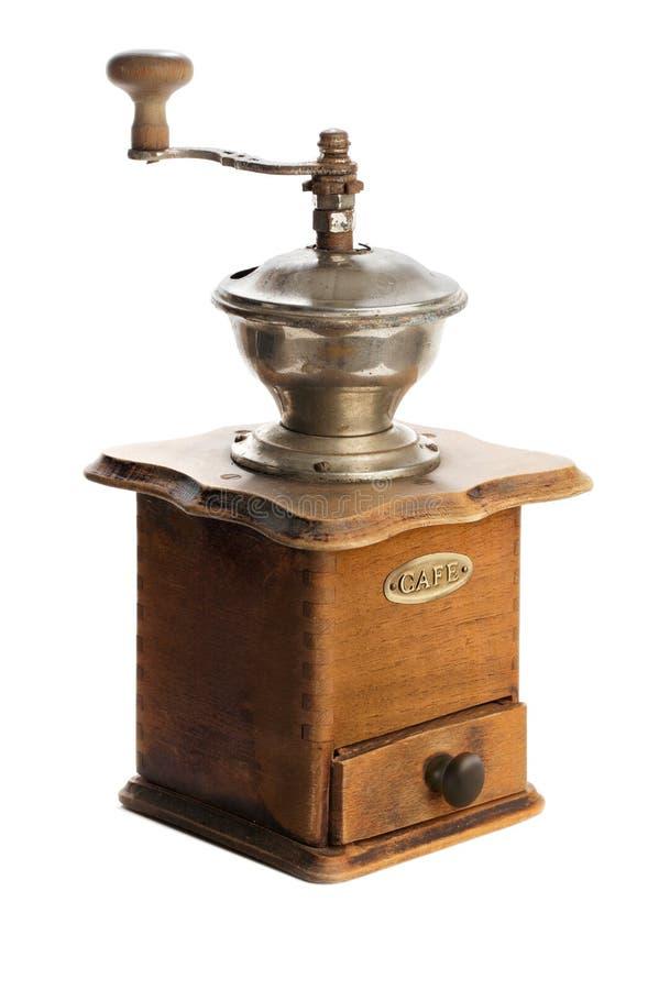 Amoladora de café manual imagenes de archivo