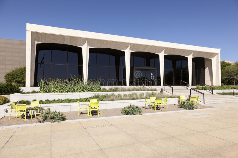 Amon Carter muzeum sztuki w Fort Worth, usa fotografia royalty free