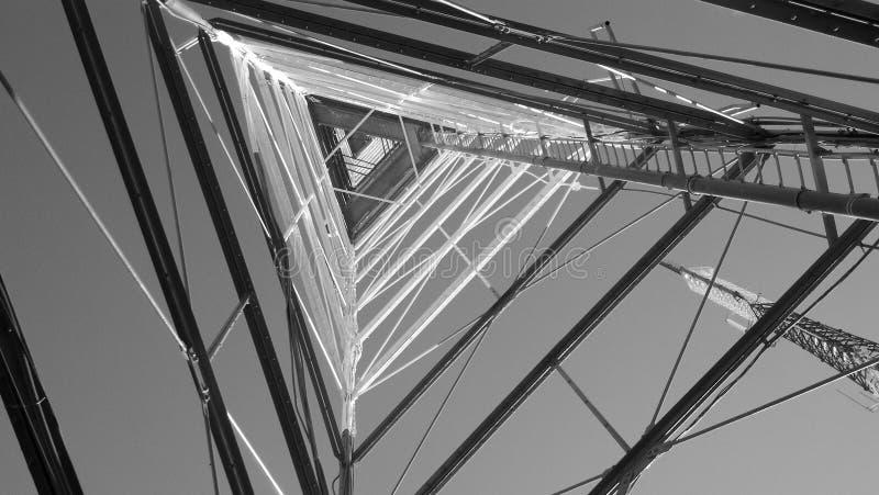 Amontonamiento de la pirámide fotografía de archivo libre de regalías