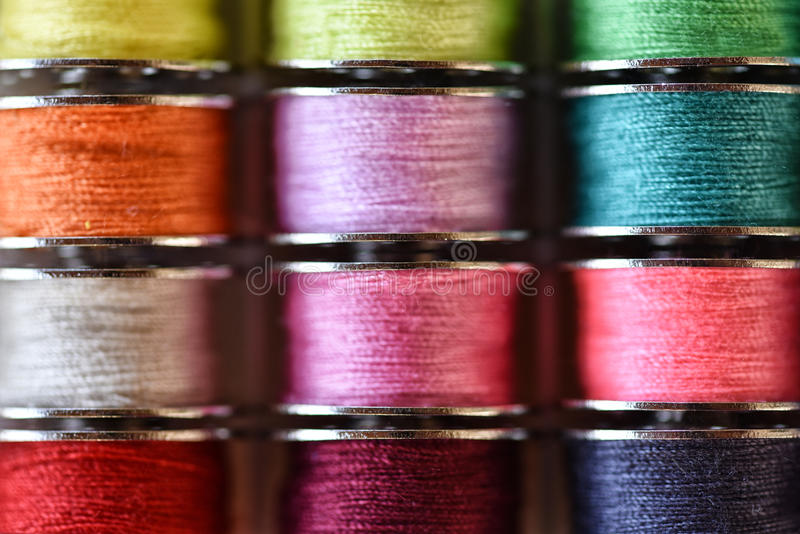 Amorçages multicolores photographie stock