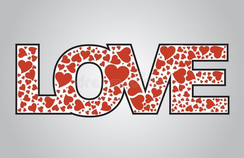 Download Amor ilustração do vetor. Ilustração de fevereiro, datar - 12805424