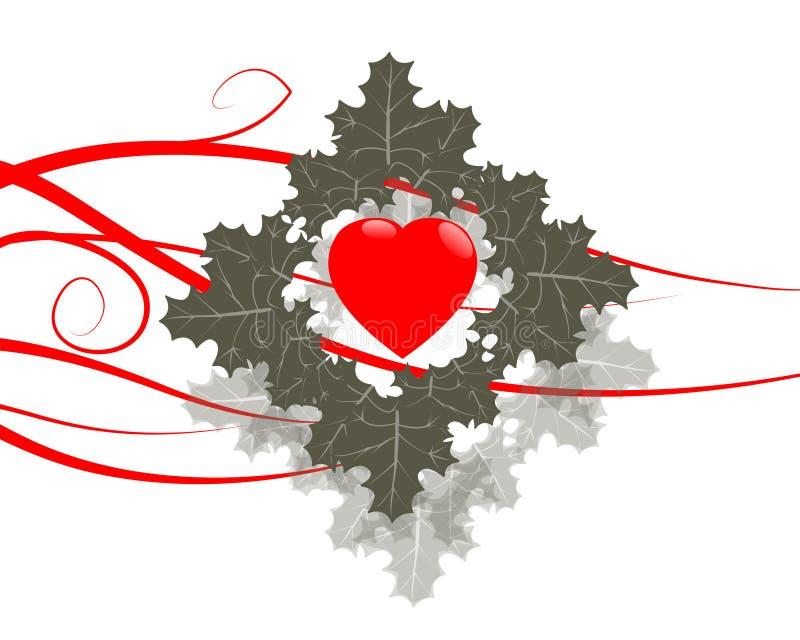Amor ilustración del vector