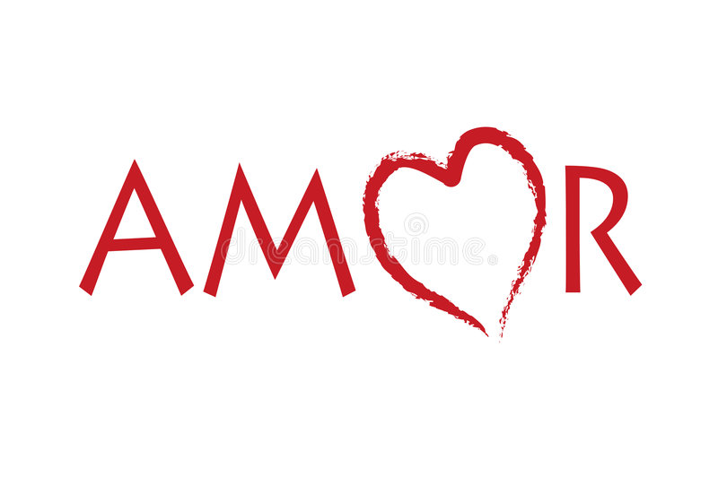 amor royaltyfri illustrationer