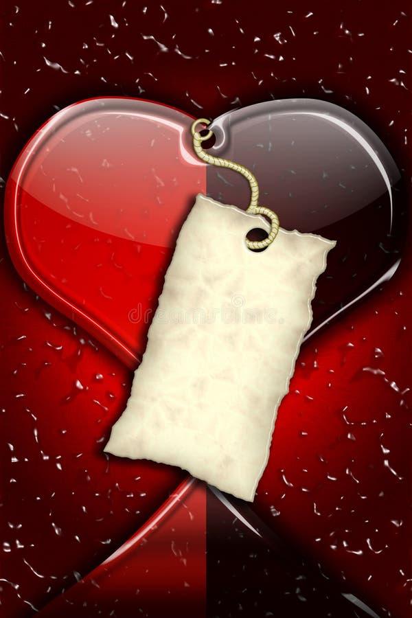 Amor, amante, romance,   ilustração do vetor
