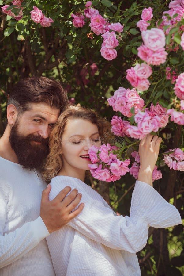 Amor apasionado Pares jovenes de los amantes Hombre apasionado que besa a la mujer sensual Confianza en amor Momento rom?ntico Ha foto de archivo libre de regalías