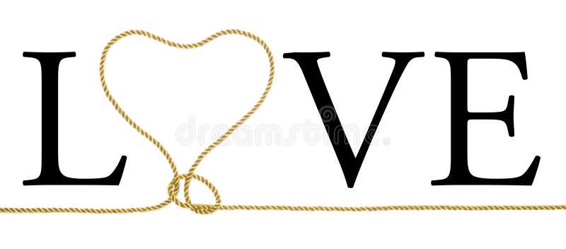 Amor - Calor-Bucle ilustración del vector