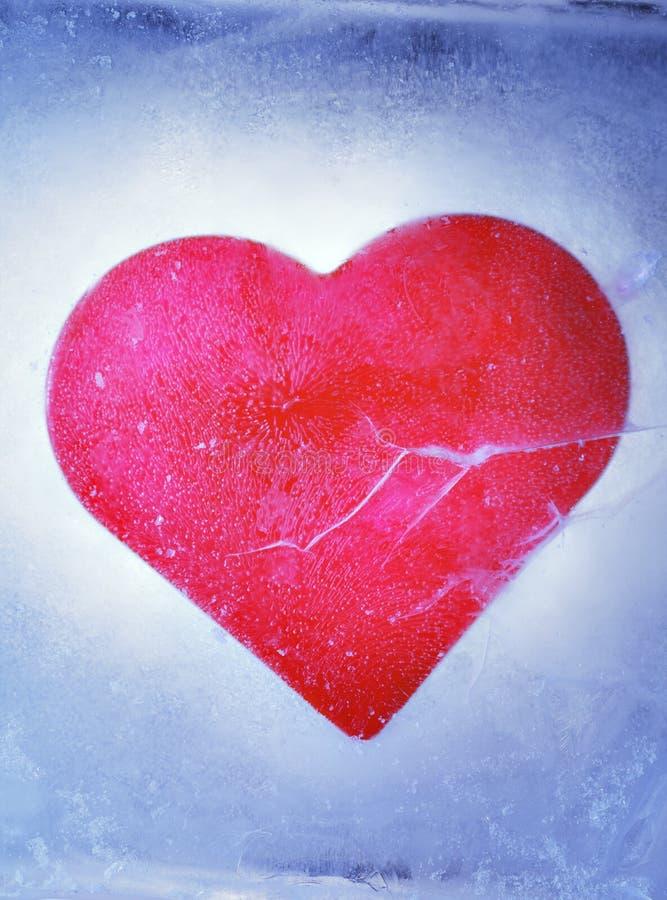 Amor congelado foto de archivo libre de regalías