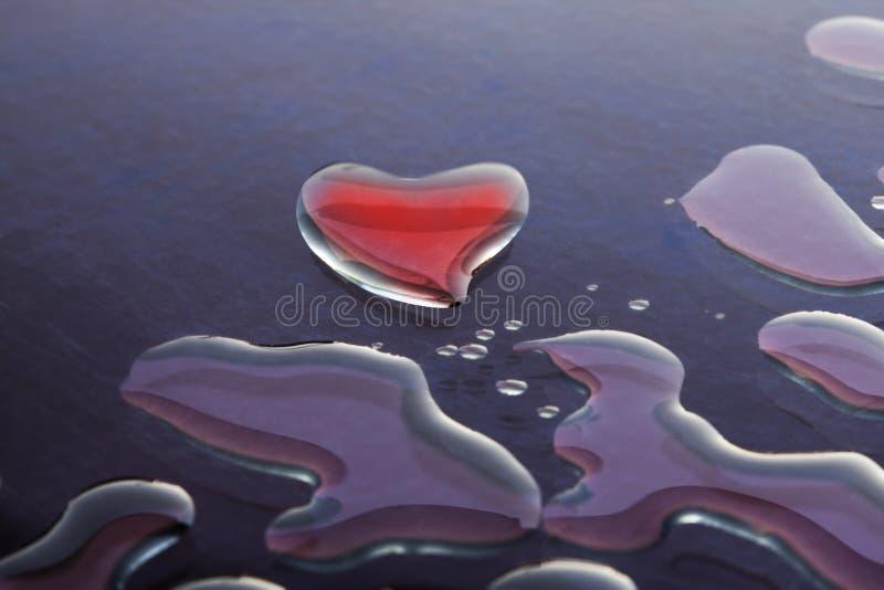 Amor da água imagem de stock
