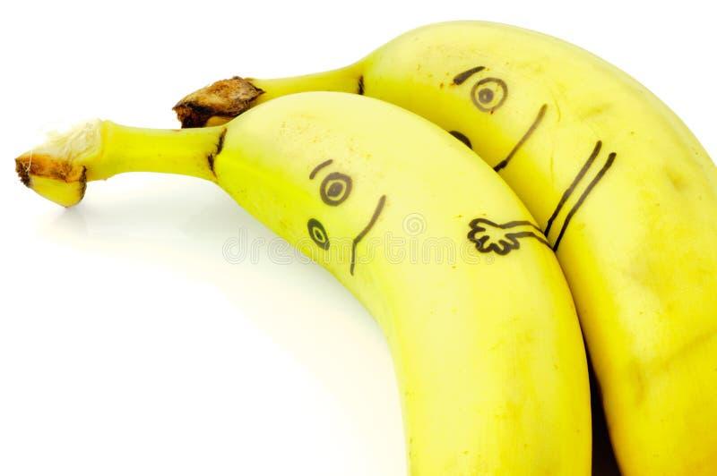 Amor da banana imagem de stock