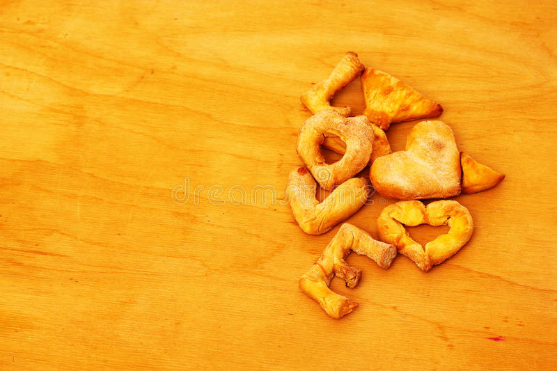 Amor da cookie foto de stock royalty free