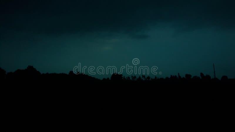 Amor da natureza na noite imagens de stock