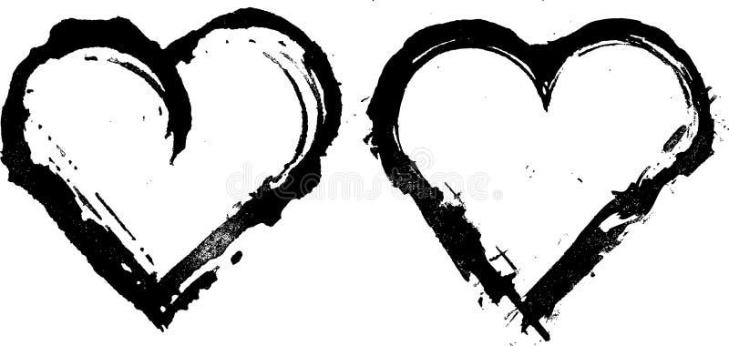 Amor da tinta ilustração stock