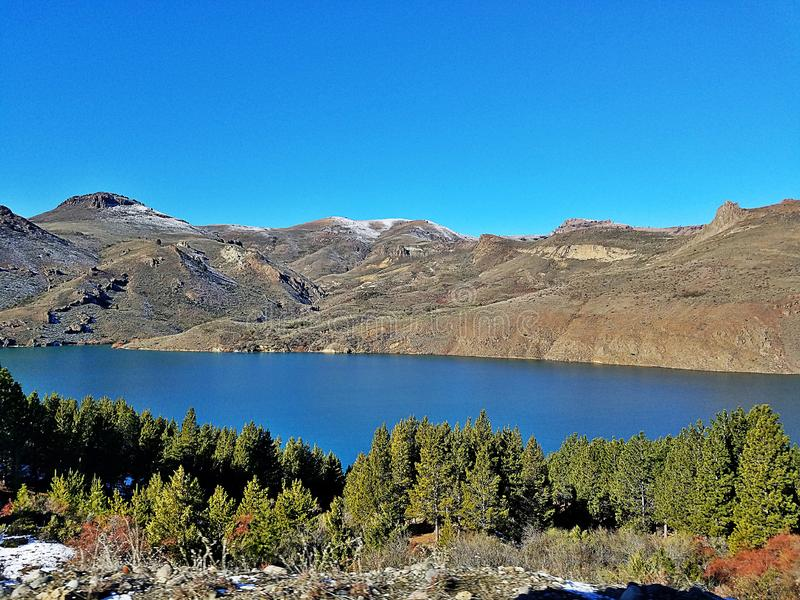 Amor de Bariloche fotografia de stock royalty free