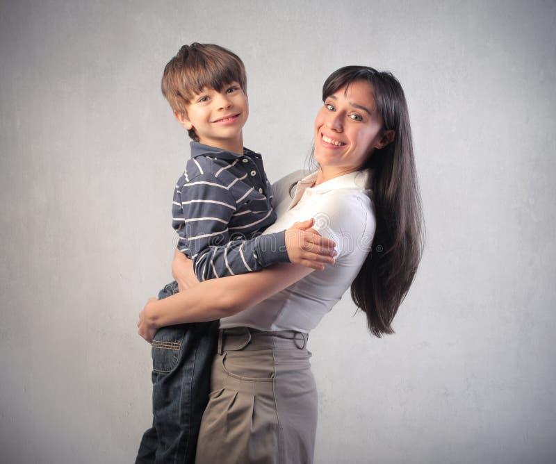 Amor de la familia imagen de archivo libre de regalías