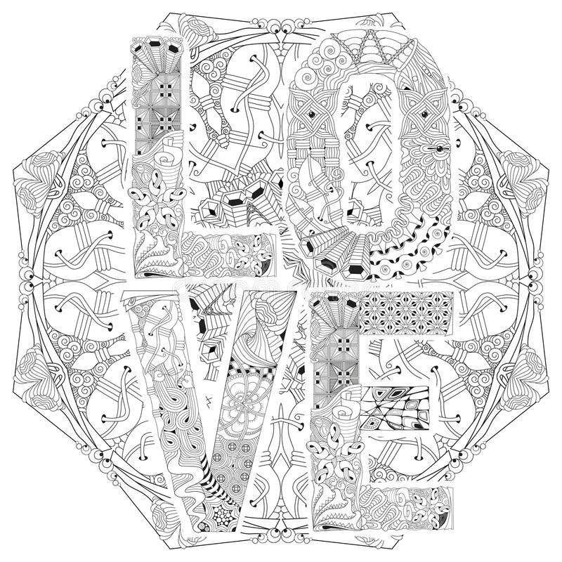 Excepcional Palabras Inspiradoras Para Colorear Mandalas Ilustración ...