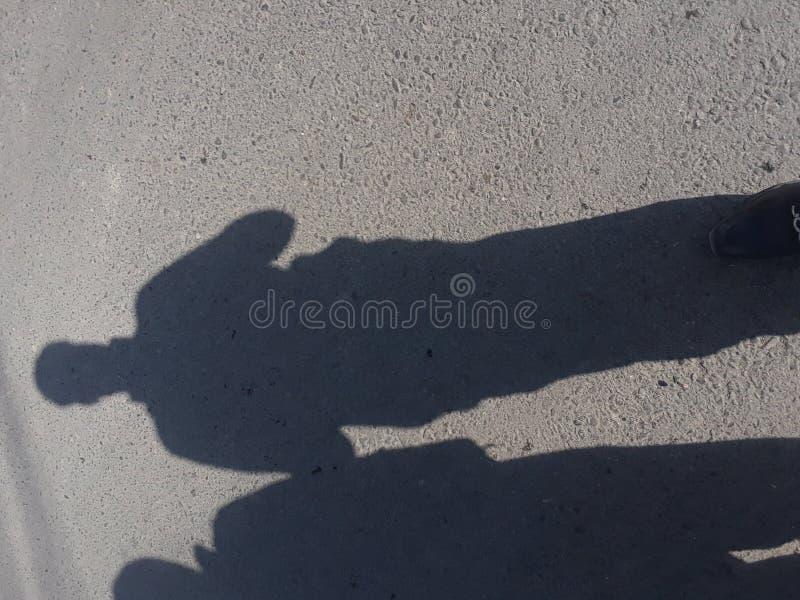 Amor de la sombra imagenes de archivo