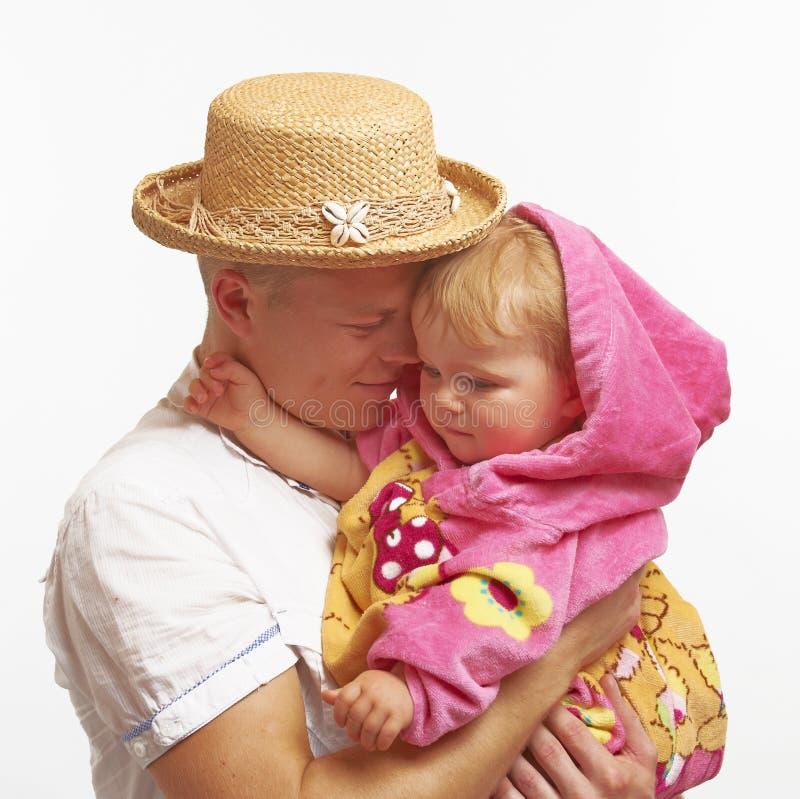 Amor de pais imagem de stock
