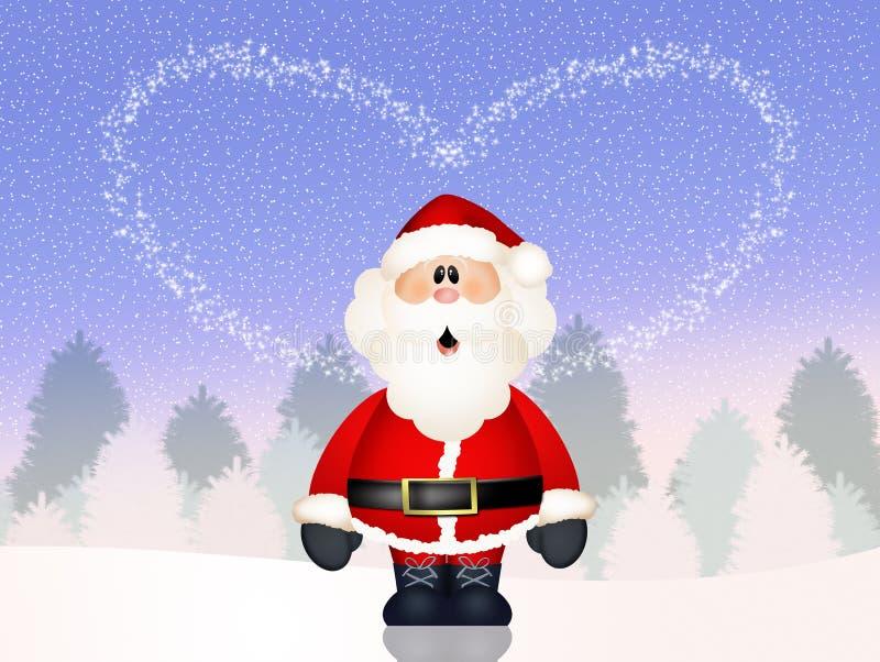 Amor de Santa Claus libre illustration
