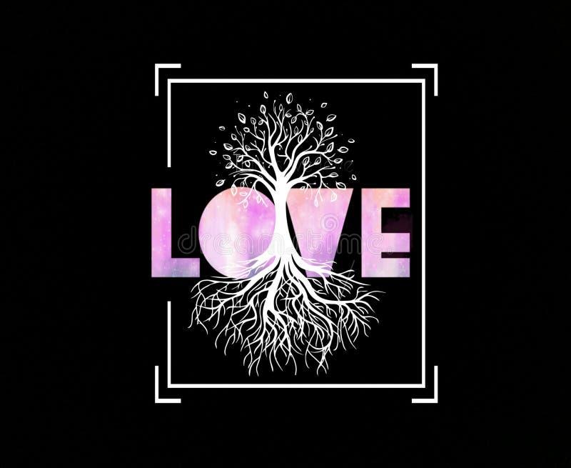 Amor del árbol fotos de archivo libres de regalías