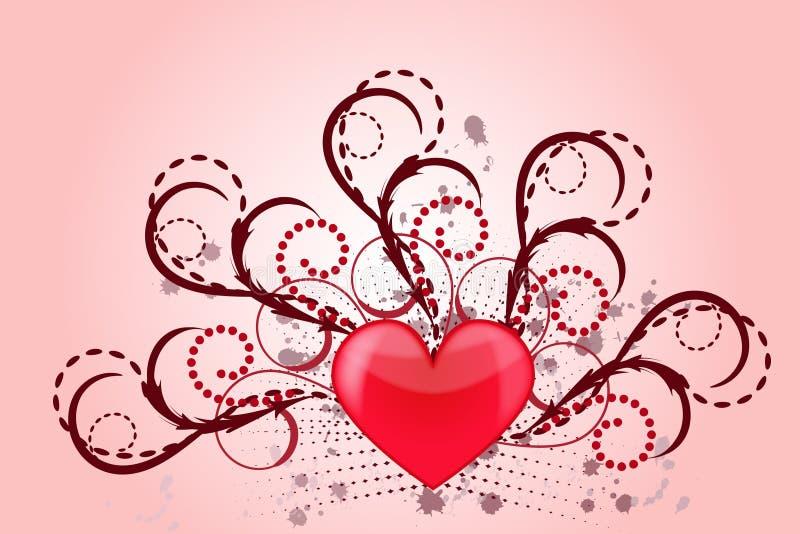 Amor del corazón libre illustration