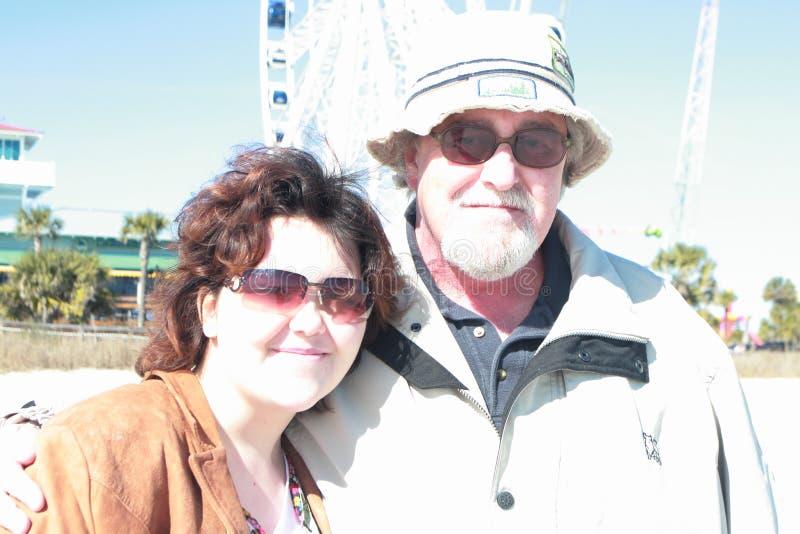 Amor del padre y de la hija fotografía de archivo