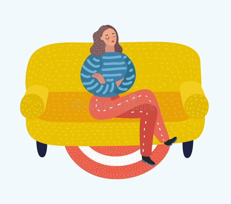 Amor del uno mismo y concepto del narcisismo libre illustration