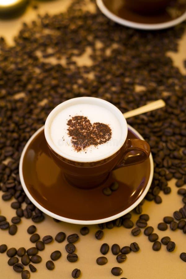 Amor do café imagem de stock
