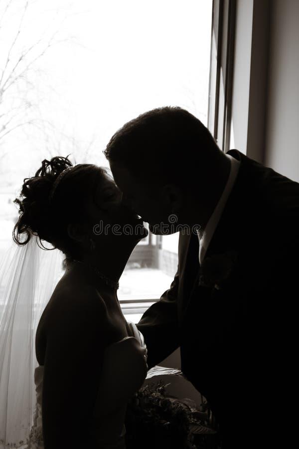 Amor do casamento fotografia de stock