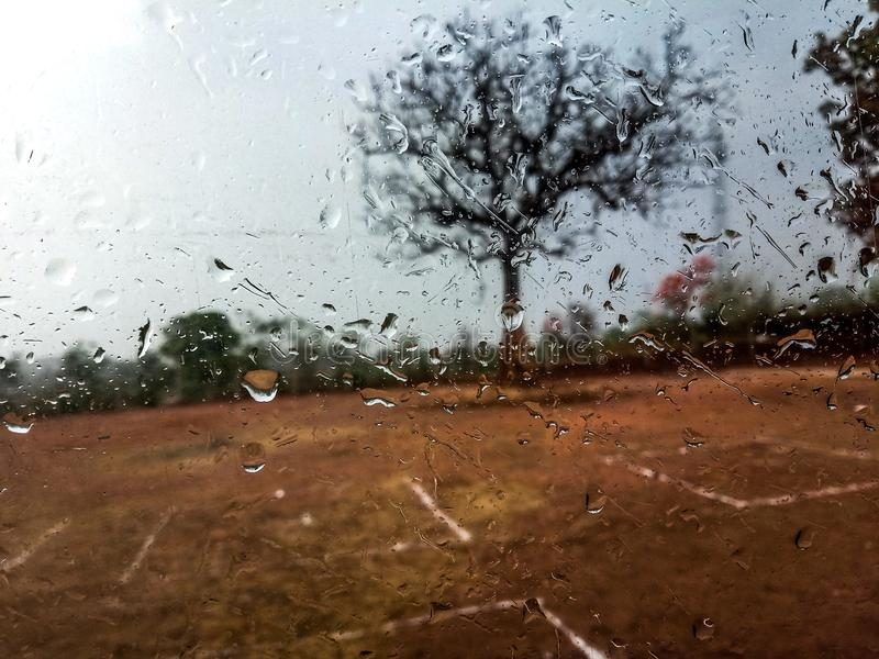 Amor do dia chuvoso fotos de stock