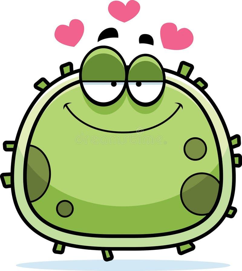 Amor do micróbio do germe ilustração royalty free