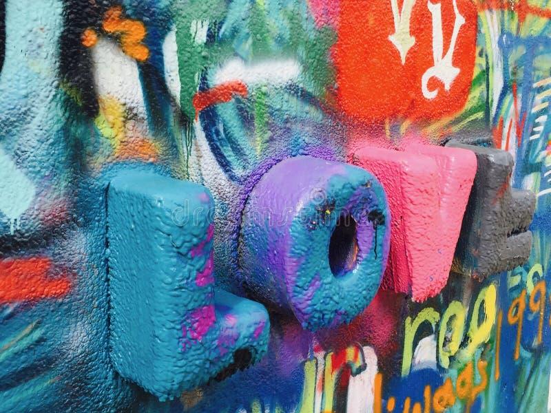 Amor do parque dos grafittis de Austin Texas imagem de stock royalty free