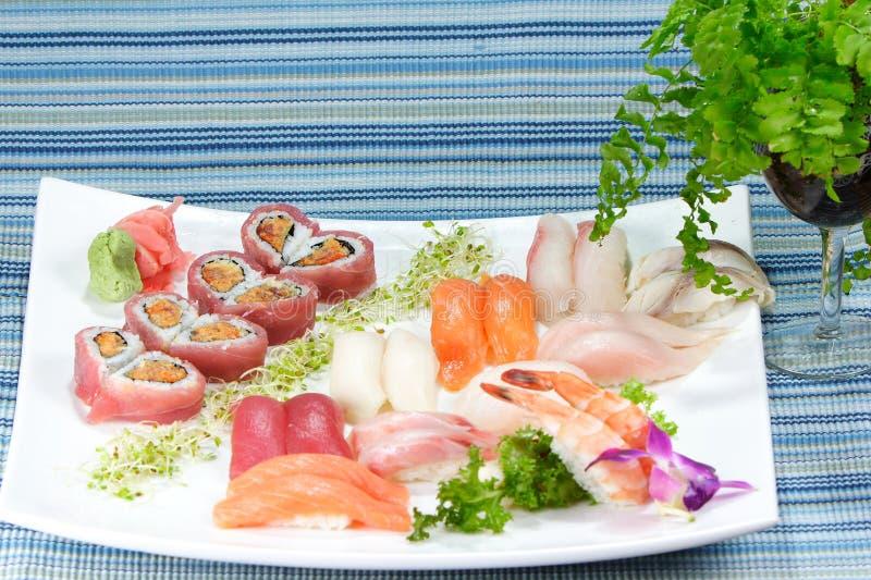 Amor do sushi combinado imagem de stock