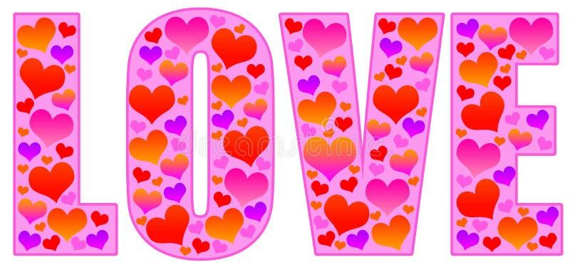 Amor do Valentim ilustração do vetor