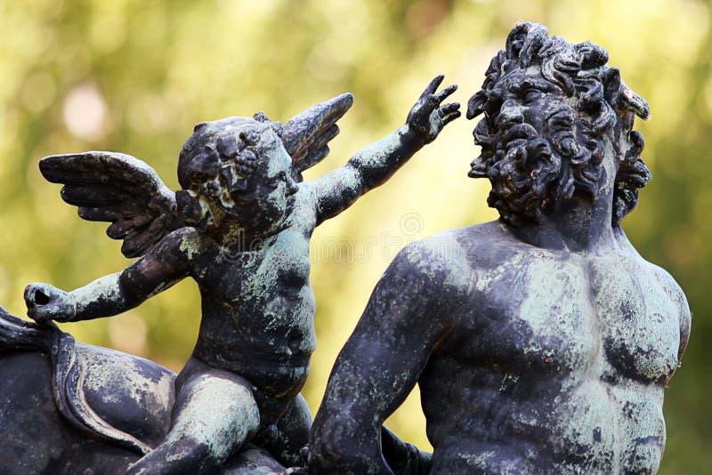 Amor e Centaur fotos de stock royalty free