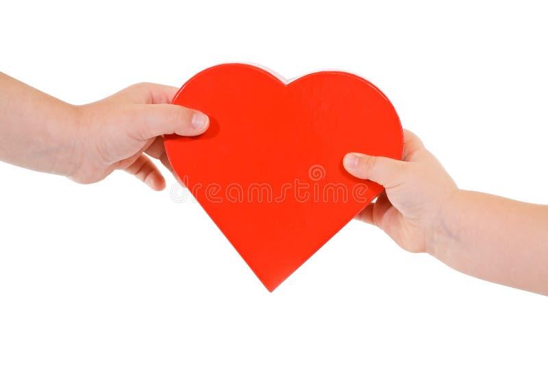 Amor e partilha imagem de stock royalty free