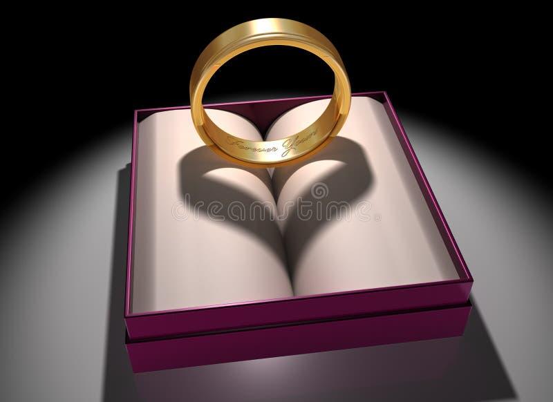 Amor e união ilustração royalty free