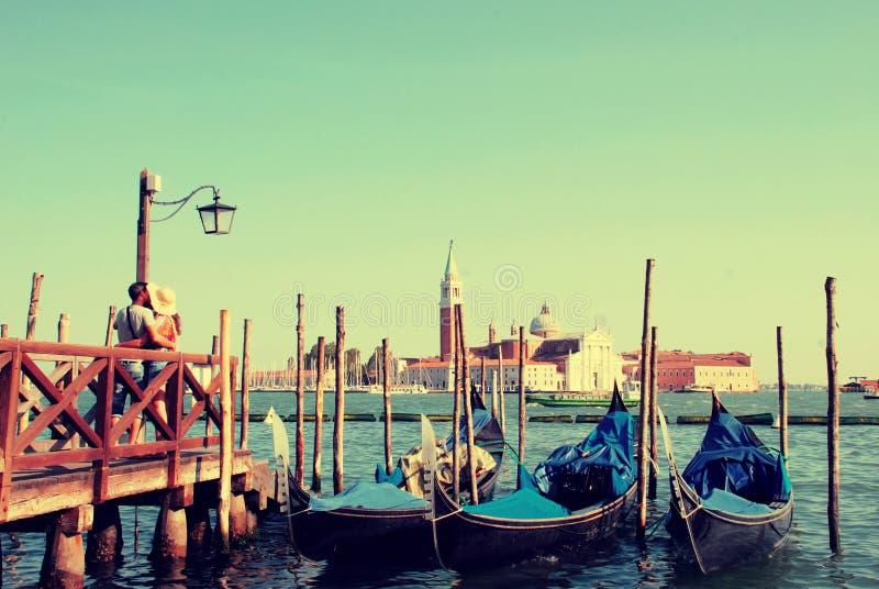 Amor em Veneza imagem de stock royalty free