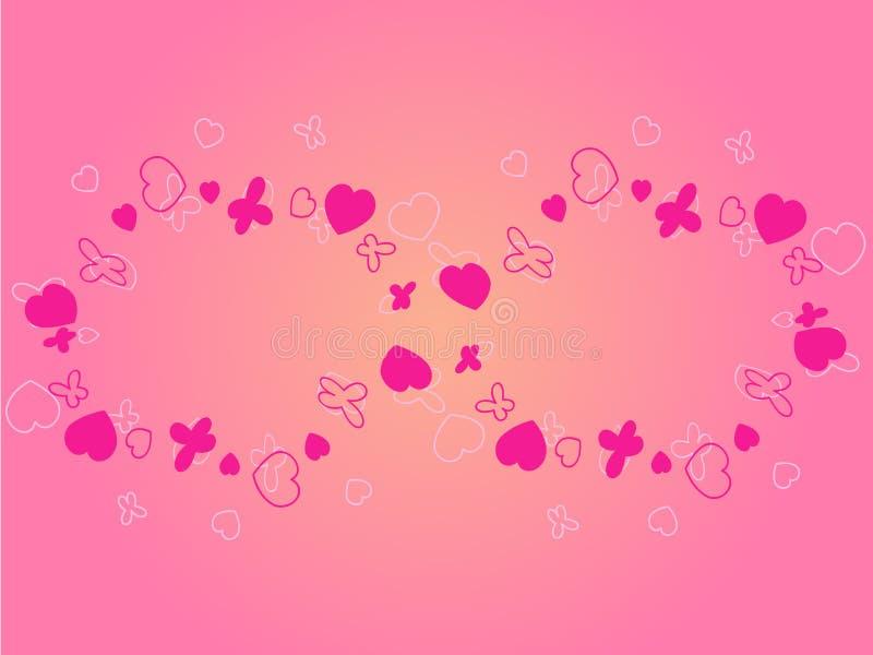 Amor eterno ilustración del vector